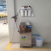งานติดตั้งเครื่องกรองน้ำบริษัท  ห้างร้าน
