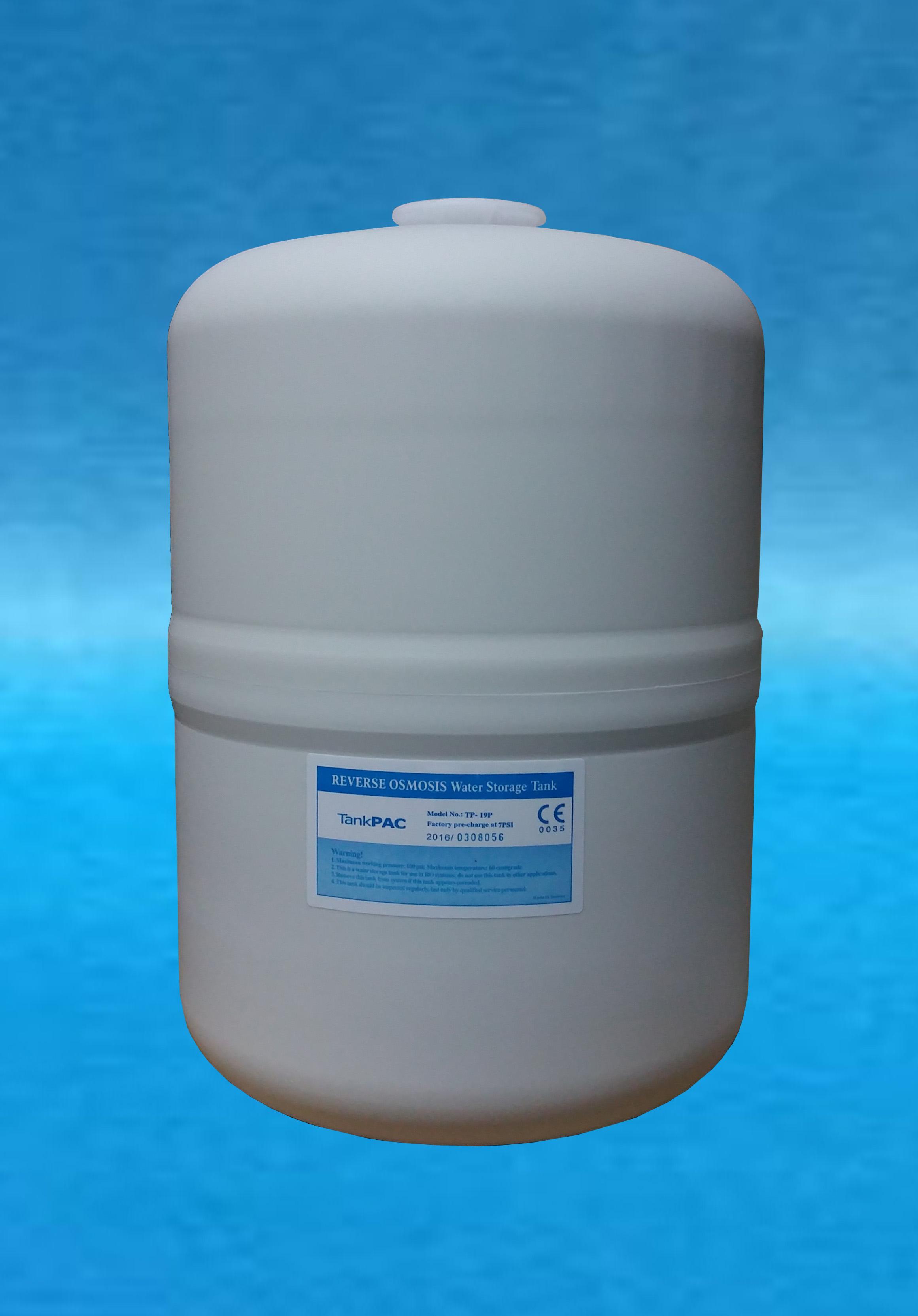 Pressure Tank PE เครื่องกรองน้ำ 3.2 Gallon