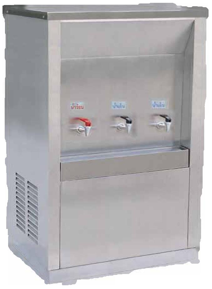 เครื่องทำน้ำร้อน 1 ก๊อก ต่อ น้ำเย็น 2 ก๊อก รุ่น KW - H1-C2
